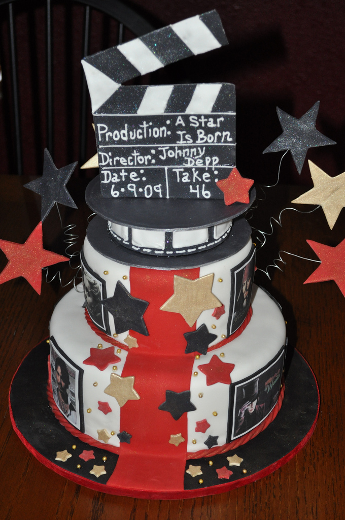 Hollywood Star Cake Designs