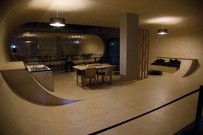 Pista De Skate Dentro De Casa