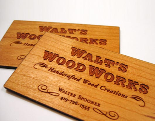 30 creative business cards wooden and furniture inspired 25 home reheart Choice Image