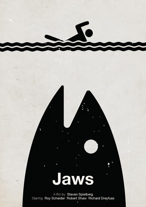 30 Fantásticos Posters de Filmes Com Pictogramas