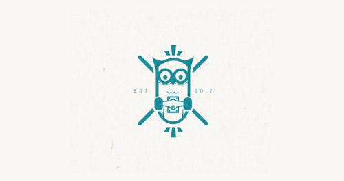 Logotipos criativos 7 Criatives Criatividade Com Um