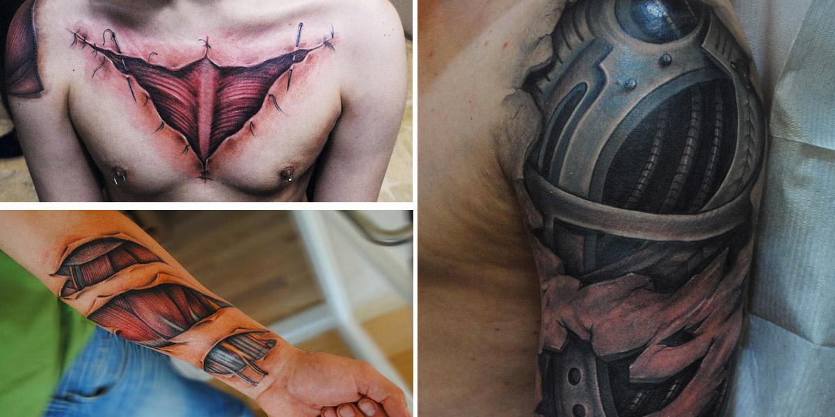 Tatuagens Realistas por Yomico Moreno