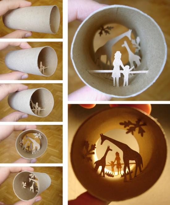 24 artes com rolo de papel higi nico criatives criatividade com um mix de entretenimento - Deco kamer jongen jaar ...