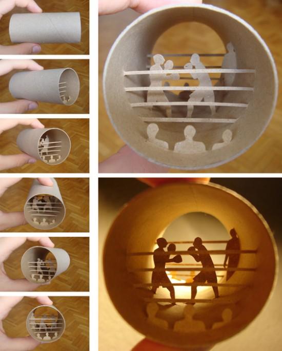 24 Artes com rolo de Papel Higienico (9)