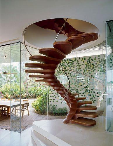 Blog de recantovirtualdasil : Recantovirtualdasil, Modelos inusitados de escadas
