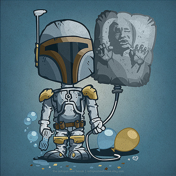 Personagens infantis do Star Wars