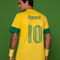 J pensou se o Roger Federer fosse brasileiro?