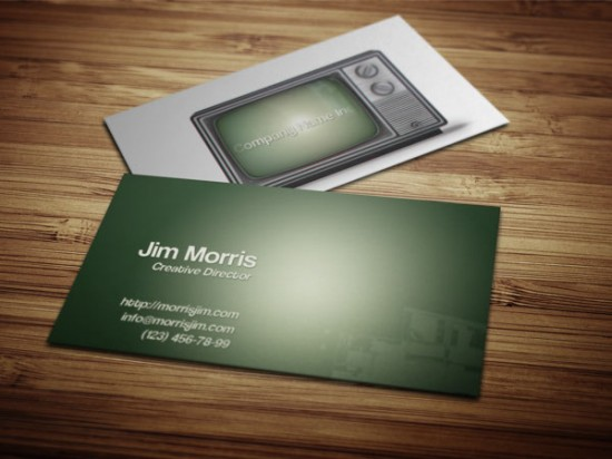 old-business-card