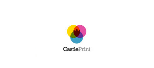 23-colorful-print-castle-logo
