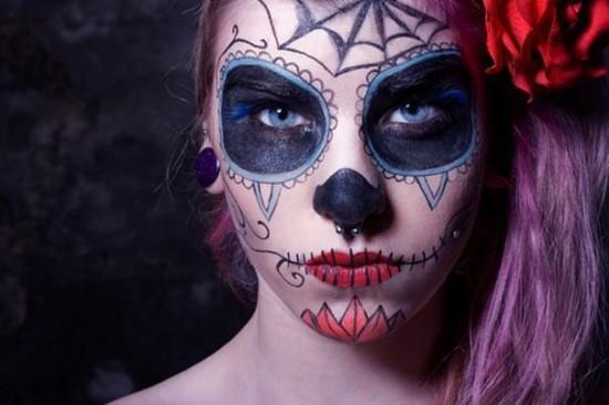 Maquiagem Art 237 Stica No Dia Dos Mortos No M 233 Xico