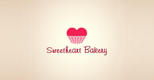 Doces, Cupcakes e Rosquinhas em Logos Criativos ...