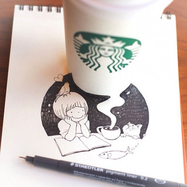 starbucks-cup-drawings-tomoko-shintani-1-600x600
