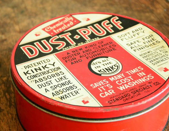 Dust-Puff-Tin