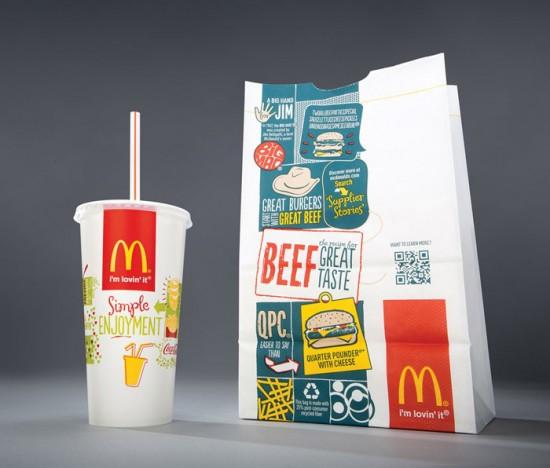 New McDonald's Packaging