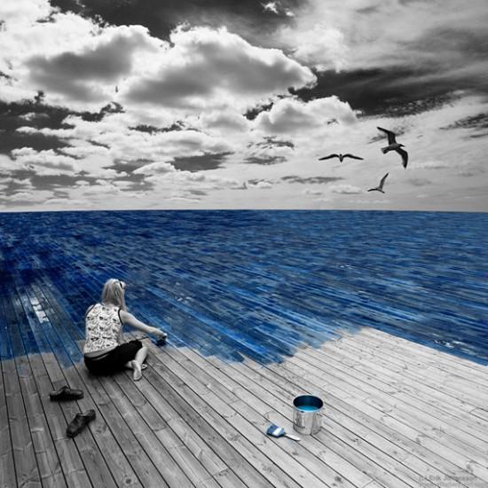 work-on-the-sea-photo-manipulation