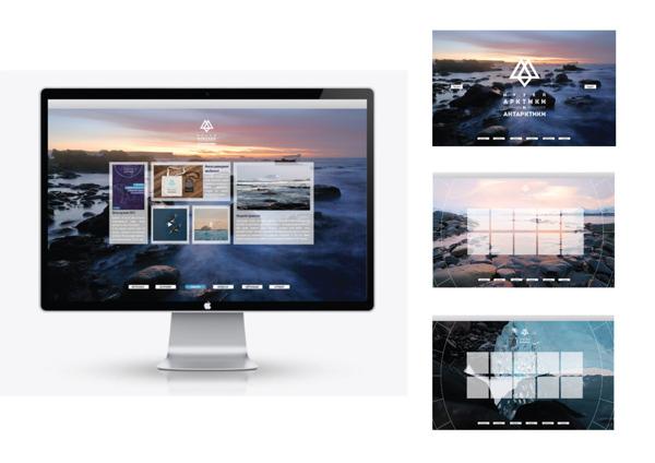 Identidade visual da Arctic and Antarctic Museum_blogdesign_criatives (12)