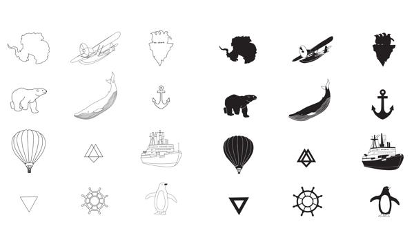 Identidade visual da Arctic and Antarctic Museum_blogdesign_criatives (4)