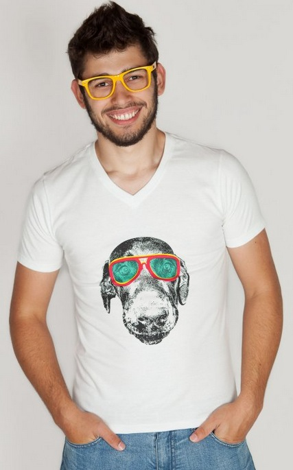 Camiseta Masculina Style Dog