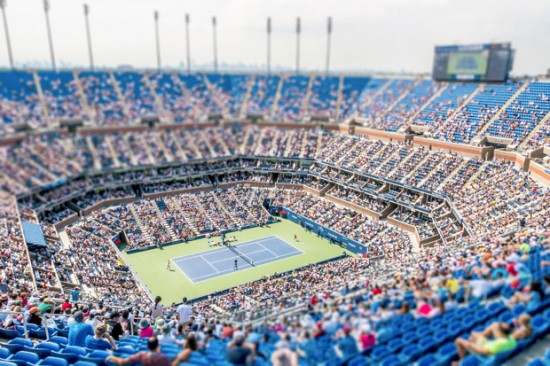 The US Open in New York City