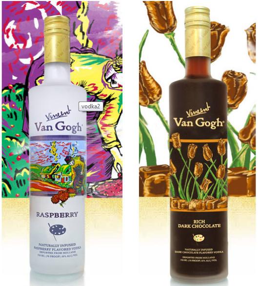 Vodka Van Gogh expoe artes do pintor em sua garrafa-5