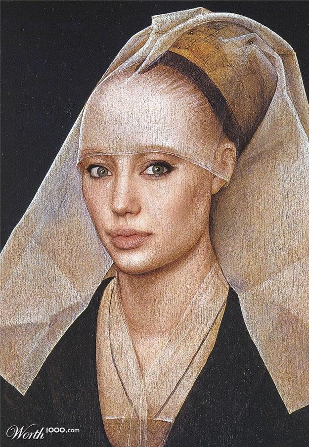 1-angelina-jolie-old-art-celebrity-painting-by-brunosousa