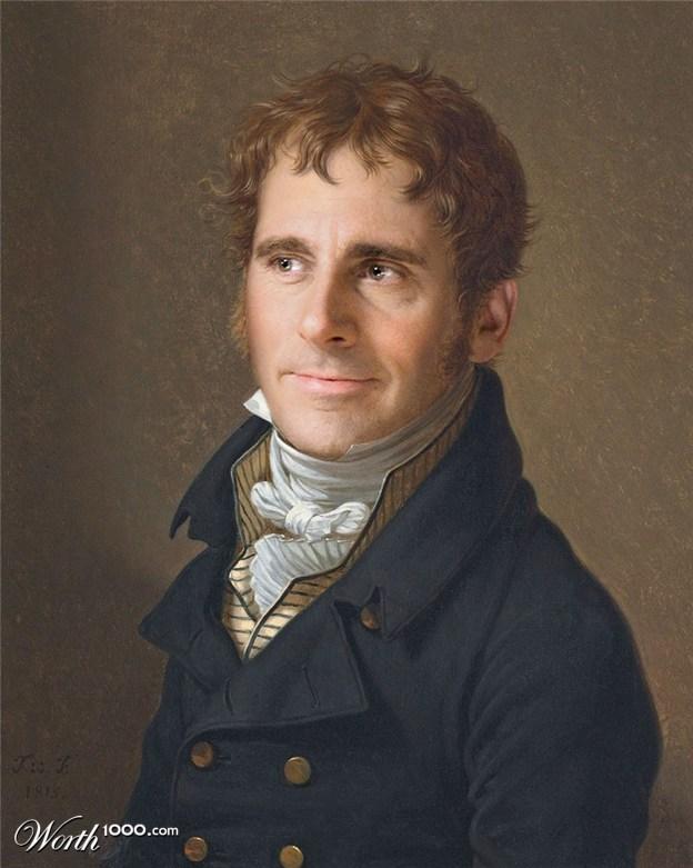 12-steve-carell-old-art-celebrity-painting-by-fichtenbrenner