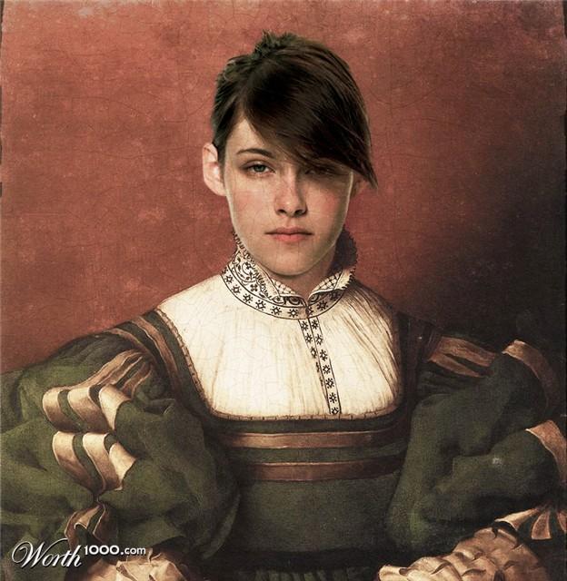 19-kristen-stewart-old-art-celebrity-painting-by-pshoudini
