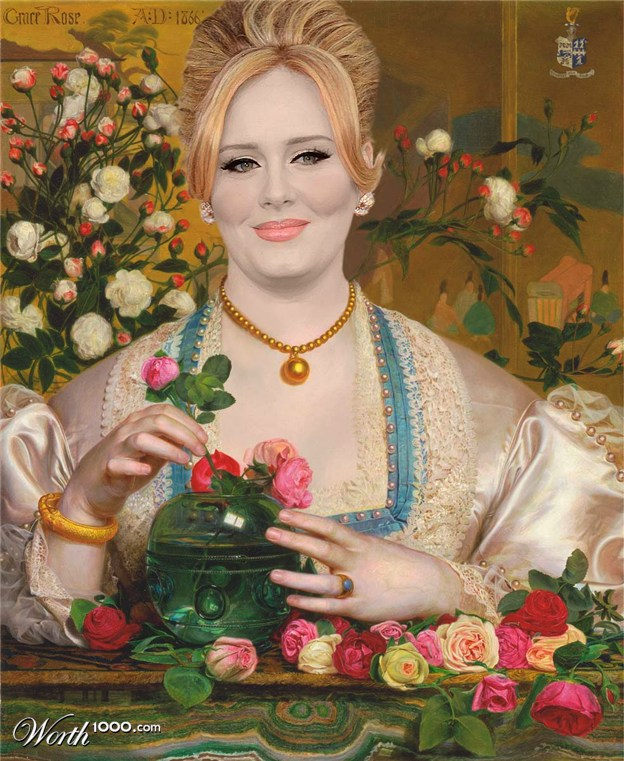 22-grace-adele-old-art-celebrity-painting-by-lukesome