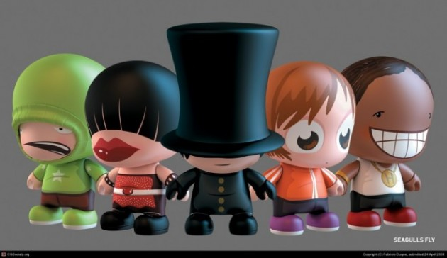 3D Cartoon Characters by Fabricio Duque.preview