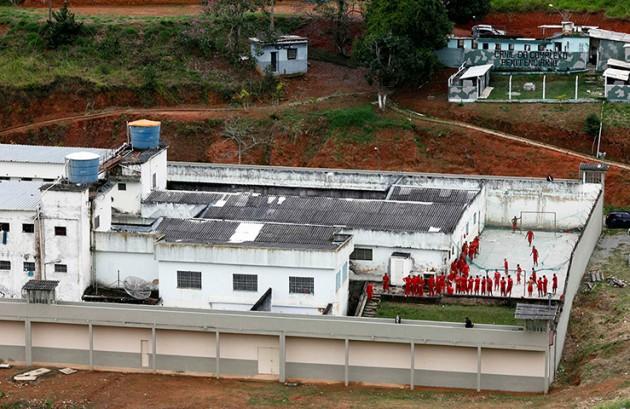 The Arisvaldo de Campos Pires maximum security prison, in Juiz de Fora, abo
