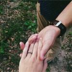 pedido casamento anel