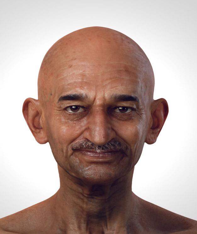 1-gandhi-3d-celebrity-character-design