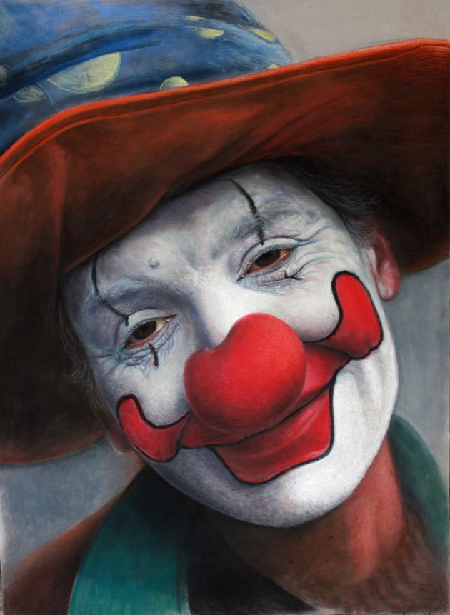 6-pastel-painting-clown