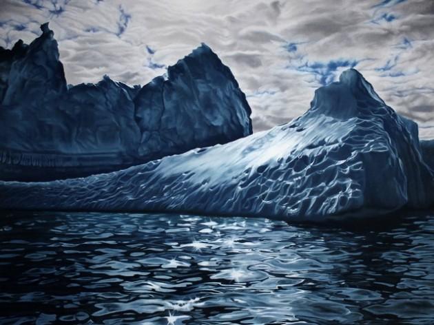 Pastel-Icebergs-by-Zaria-Forman-6-640x480