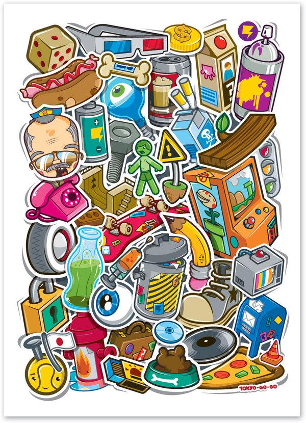 13-stickers-design