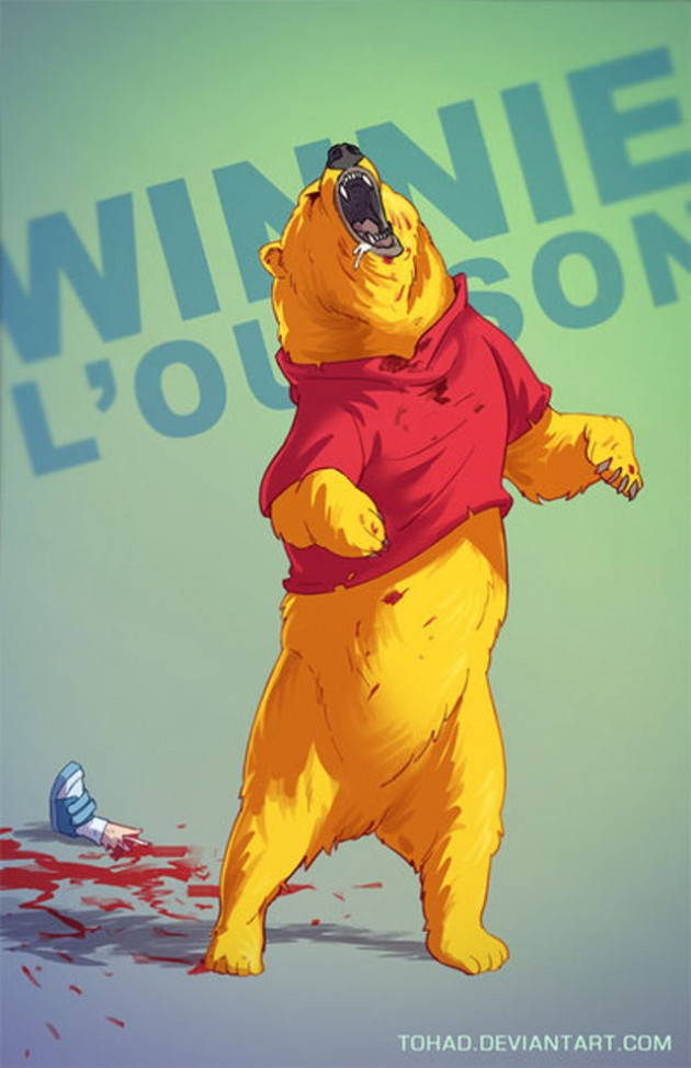 Badass-Illustrations-Of-Popular-Childhood-10