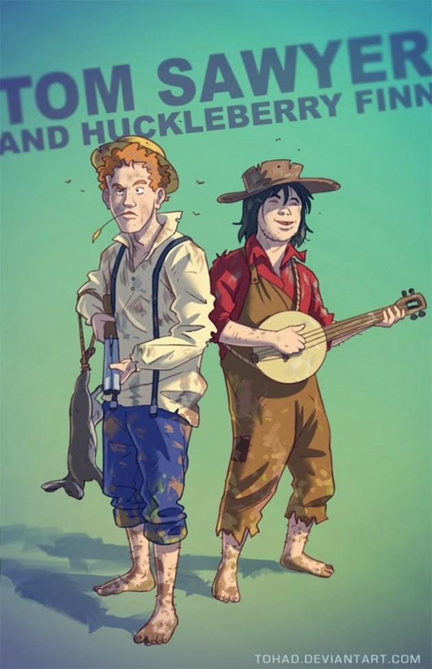 Badass-Illustrations-Of-Popular-Childhood-8