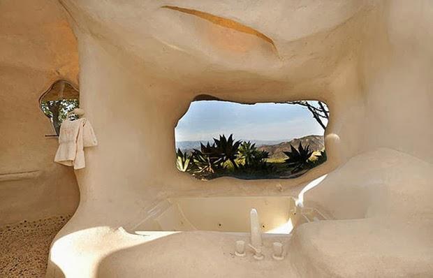 Casal-constrói-casa-inspirada-na-do-Flintstones-na-Califórnia-1