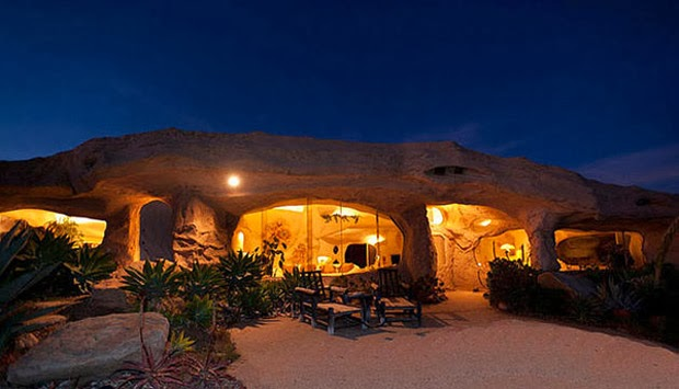 Casal-constrói-casa-inspirada-na-do-Flintstones-na-Califórnia-10