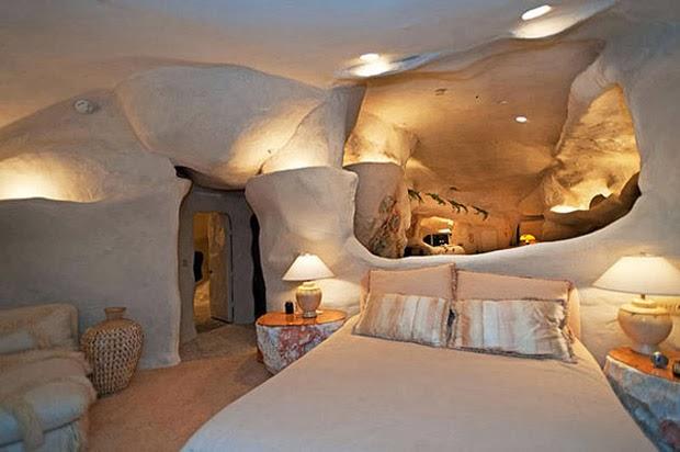 Casal-constrói-casa-inspirada-na-do-Flintstones-na-Califórnia-6