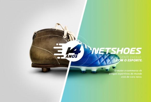 Display Novo Logotipo Netshoes