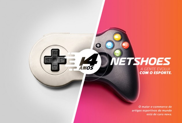 Display Novo Logotipo Netshoes 3