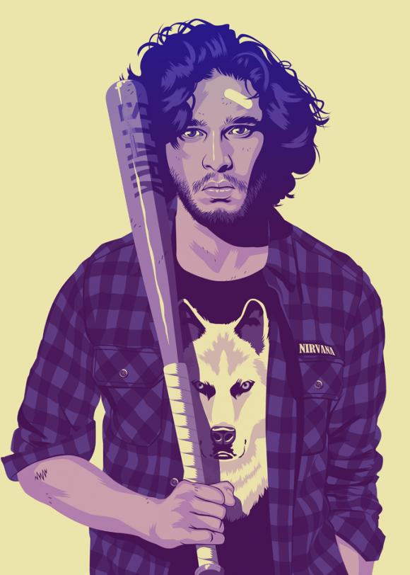 Jon-Snow-Modern-Illustration-580x812