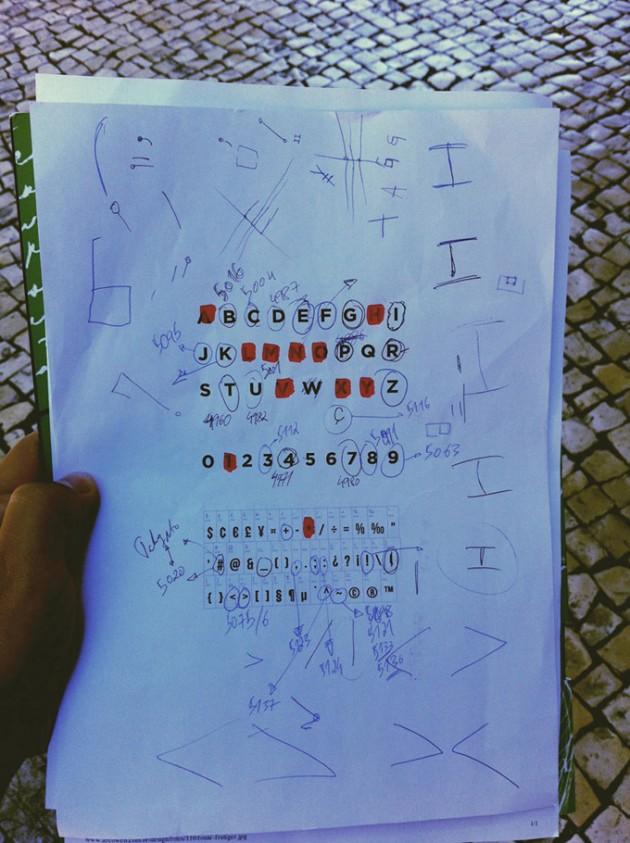 LX Type - A fonte oficial de Lisboa criada pelos fios dos cabos eletricos da cidade