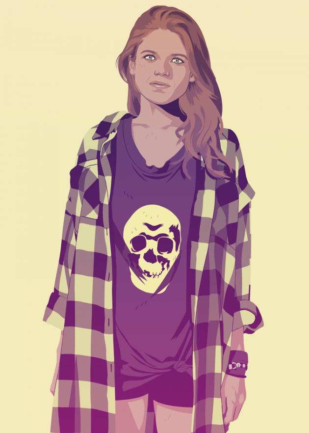 Ygritte-Modern-Illustration