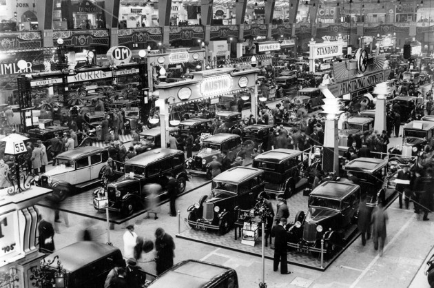 International Motor Show in London. 1932.  (Photo by Austrian Archives (S)/Imagno/Getty Images)