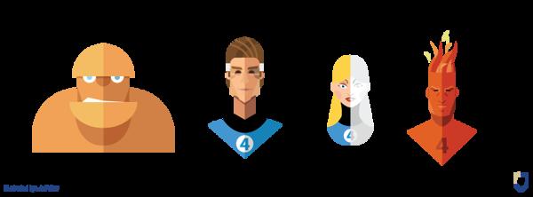 Flat Design Heroes (16)