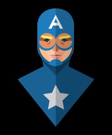 Flat Design Heroes (6)