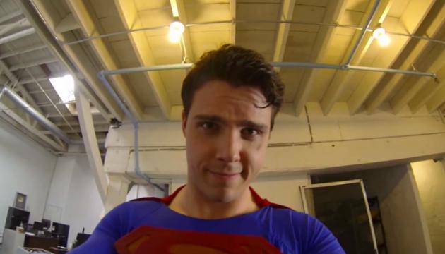 Superman-GoPro
