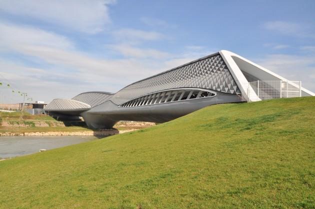 Ponte Pavilhão - Zaragoza, Espanha